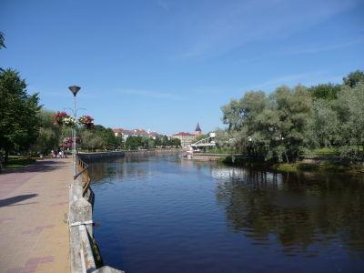 Promenáda pri rieke Emajõgi