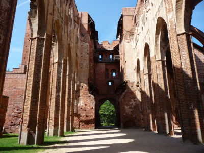 Ruiny Katedrály sv. Petra a Pavla