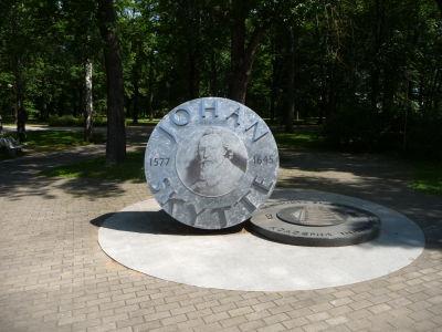 Pamätník švédskeho politika Johana Skytteho