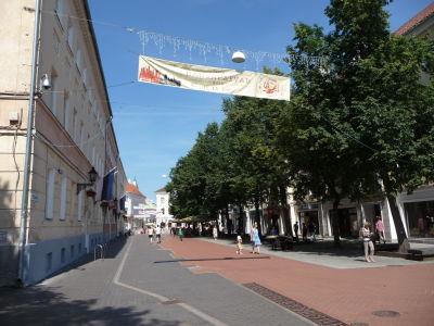 Ulica Küüni v centre mesta
