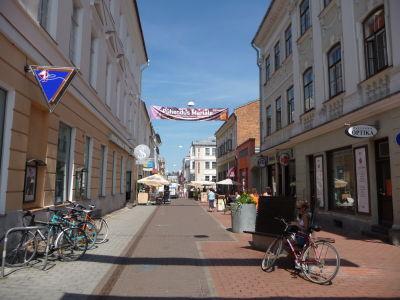 Centrum mesta - Ulica Rüütli
