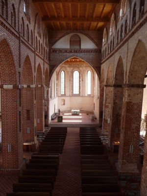 Luteránsky Kostol sv. Jána Evanjelistu - Gotický tehlový chrám, jeden zo symbolov mesta