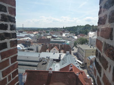 Luteránsky Kostol sv. Jána Evanjelistu - Výhľad z veže