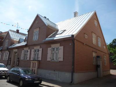 Historické domčeky v centre mesta