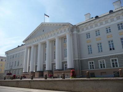 Hlavná budova Univerzity v Tartu