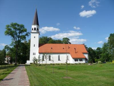 Evanjelický kostol v Sigulde