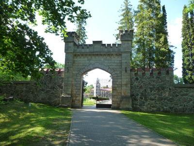 Vstupná brána k zámku