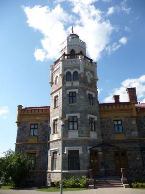 Neogotický zámoček v Sigulde