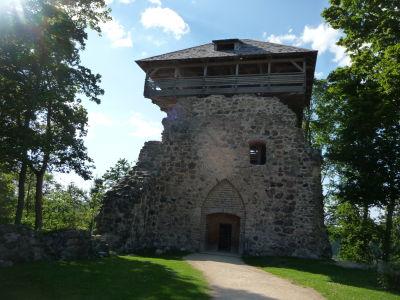 Obranná veža s vyhliadkou