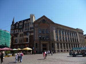 Katedrálne námestie v Rige - Lotyšský rozhlas
