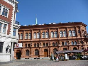 Katedrálne námestie v Rige - Múzeum umenia