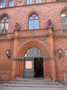 Rižská katedrála - Vchod