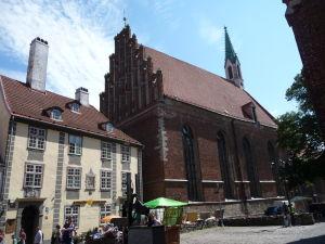 Uličky Rigy - Chrám sv. Jána