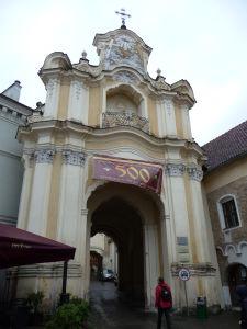 Chrám sv. Trojice - Vstupná brána