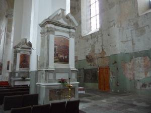 Chrám sv. Trojice - Pomerne tristný stav