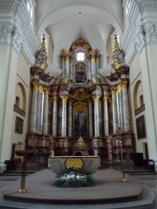 Chrám sv. Kazimíra - Hlavný oltár