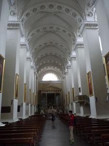 Vilniuská katedrála - Hlavná loď