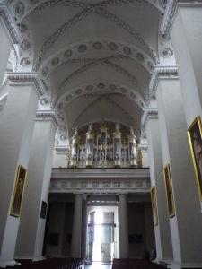 Vilniuská katedrála - Organ