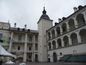 Nádvorie Veľkovojvodského paláca