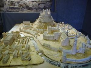 Veľkovojvodský palác - Maketa starého mesta