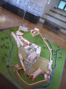 Veľkovojvodský palác - Maketa opevnenia starého mesta