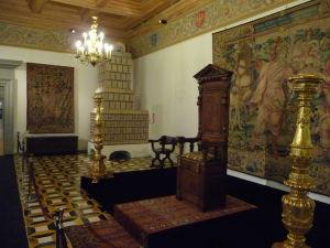Jedna z miestností vo Veľkovojvodskom paláci