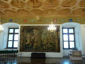 Tapiséria vo Veľkovojvodskom paláci
