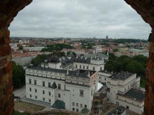 Pohľad na Veľkovojvodský palác z Gediminasovej veže