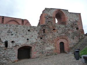 Ruiny hradu vo Vilniuse