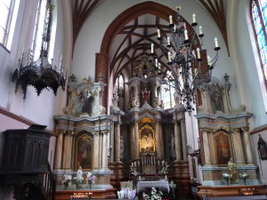 Chrám sv. Anny - Vedľajšia kaplnka