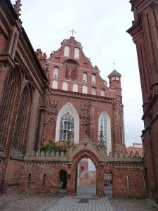 Chrám sv. Anny - Zadná brána