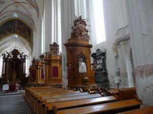 Chrám sv. Anny - Hlavná loď