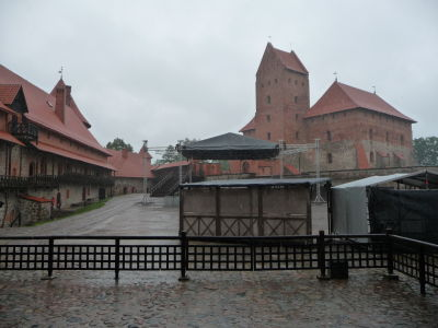 Ostrovný hrad Trakai