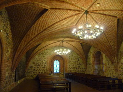 Sála vo vnútri hradu