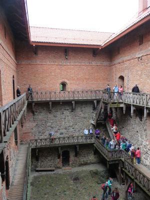 Vojvodcovský palác - Vnútorný dvor