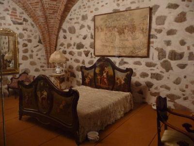 Zariedená miestnosť na hrade