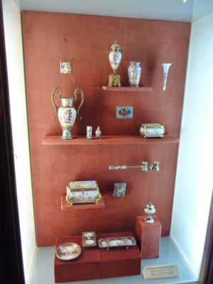 Exponáty v múzeu