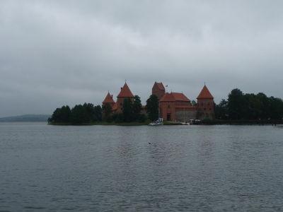 Ostrovný hrad v Trakai