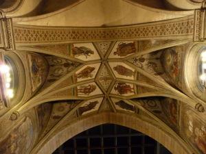 Katedrála Notre-Dame - Strop