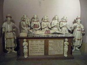 Katedrála Notre-Dame - Krypta - Hrobka kráľa Jána Luxemburského