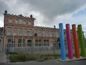 Ghent - Železničná stanica Sint Pieters