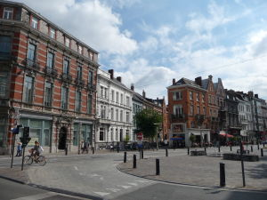 V uliciach Ghentu