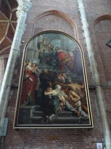 Ghent - Katedrála sv. Bava (Sint Baafskathedraal) - Obraz od Rubensa
