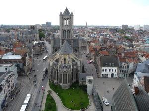 Kostol sv. Mikuláša zo zvonice