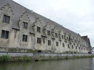 Ghent - plavba po kanáloch mesta - Vleeshuis (bitúnok)