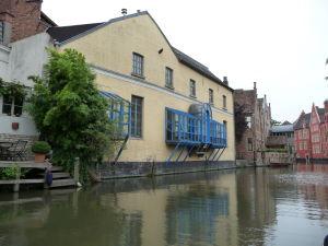 Ghent - plavba po kanáloch mesta