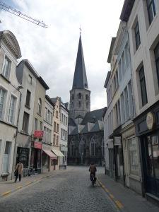 V uliciach Ghentu - Kostol sv. Jakuba (Sint Jacobskerk)