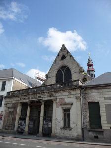 V uliciach Ghentu - Mestská knižnica