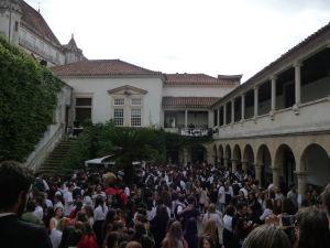 Univerzita v Coimbre - Študetnská party