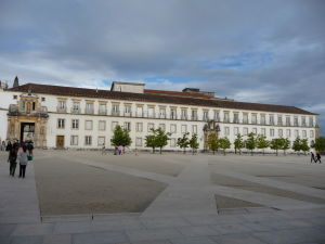 Univerzita v Coimbre - Hlavné nádvorie